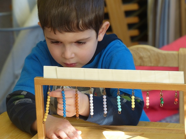 """Education is a natural process carried out by the child and is not aquired by listening to words but by experience in the environment."" M. Montessori"